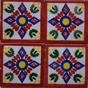 productos azulejos rombos azulejos decorados talavera